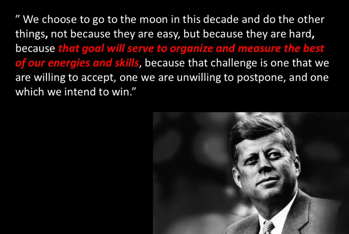john f kennedys rice stadium moon speech analysis essay Few moments in rice's history are as well known or oft remarked upon as the 1962 speech in which president john f kennedy boldly declared, we choose to go to the moon kennedy spoke at rice stadium sept 12, 1962.