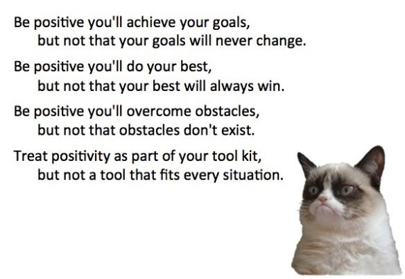 Tenk positivt - men ikke alltid